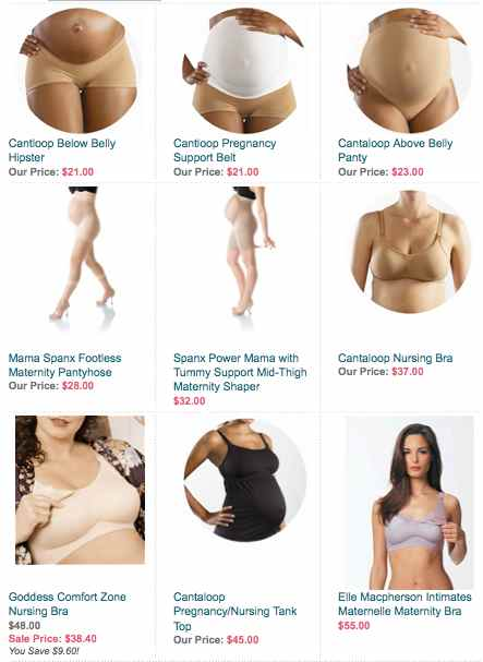 image: Maternity bras and panties for pregnant women